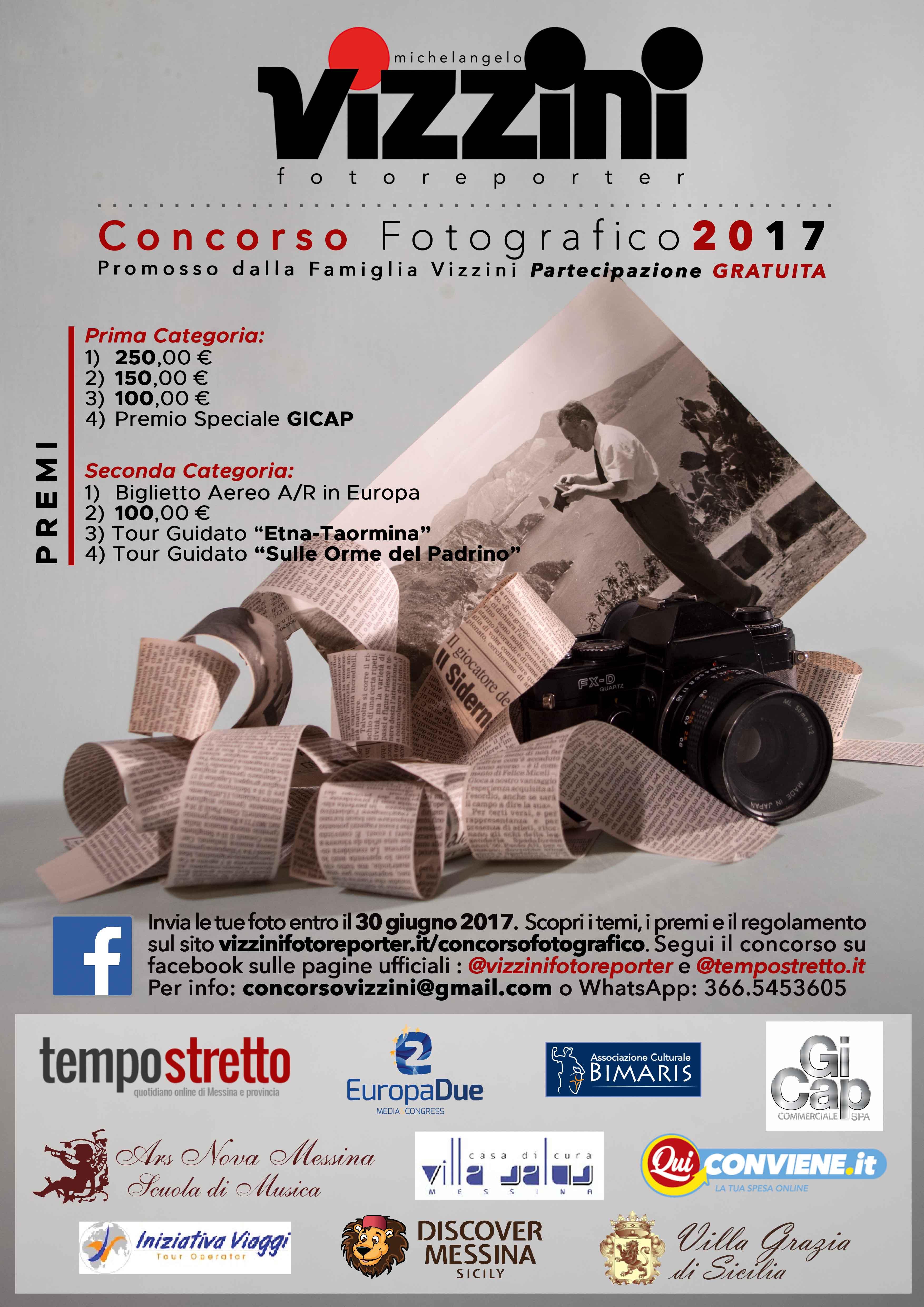 Concorso Michelangelo Vizzini Fotoreporter 2017
